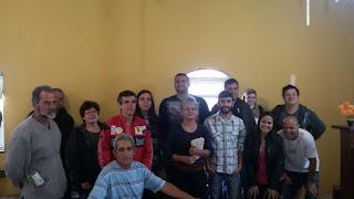 Secretaria Municipal de Meio Ambiente faz palestra com moradores da Est Rincão do Vovô na Posse-Teresópolis sobre Esgotamento Sanitário