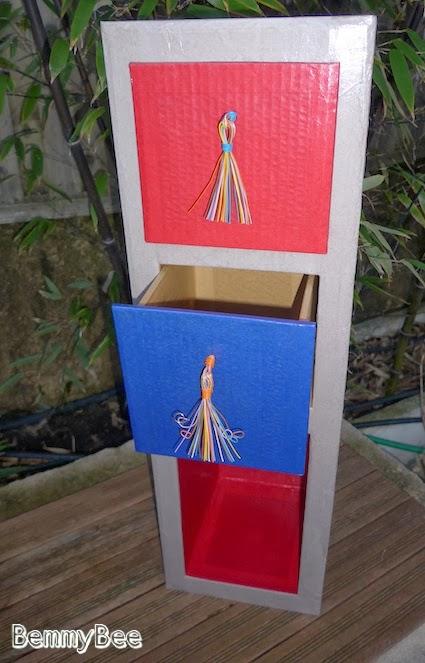 colonne en carton