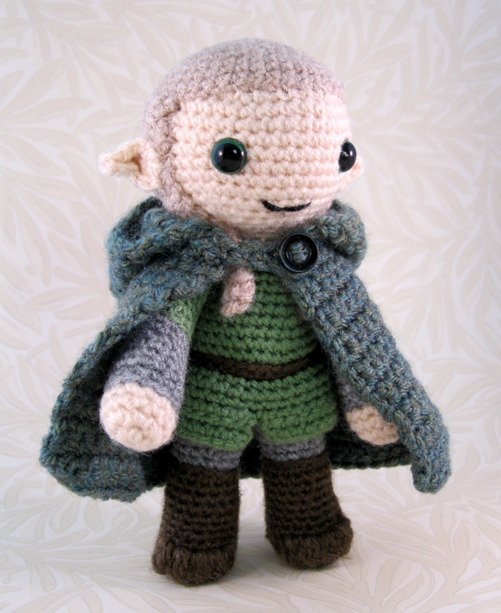 Tutorial Elfi Amigurumi : LucyRavenscar - Crochet Creatures: Fantasy Amigurumi - Elves