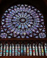 Catedral de Notre Dame en Paris. Iglesias por el Mundo. Vitrales en las catedrales europeas. Iglesias del mundo. Basilica Cristiana
