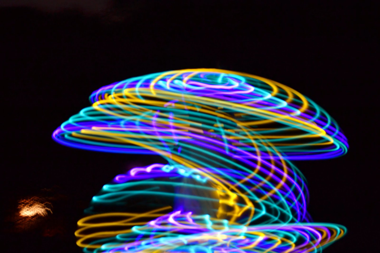 LED Hula Hoop Night Mushroom Shape