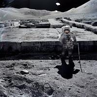 ruinas en la luna