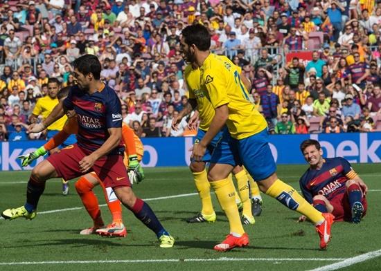 Barcelona 2 x 1 Las Palmas - Campeonato Espanhol(La Liga) 2015/16