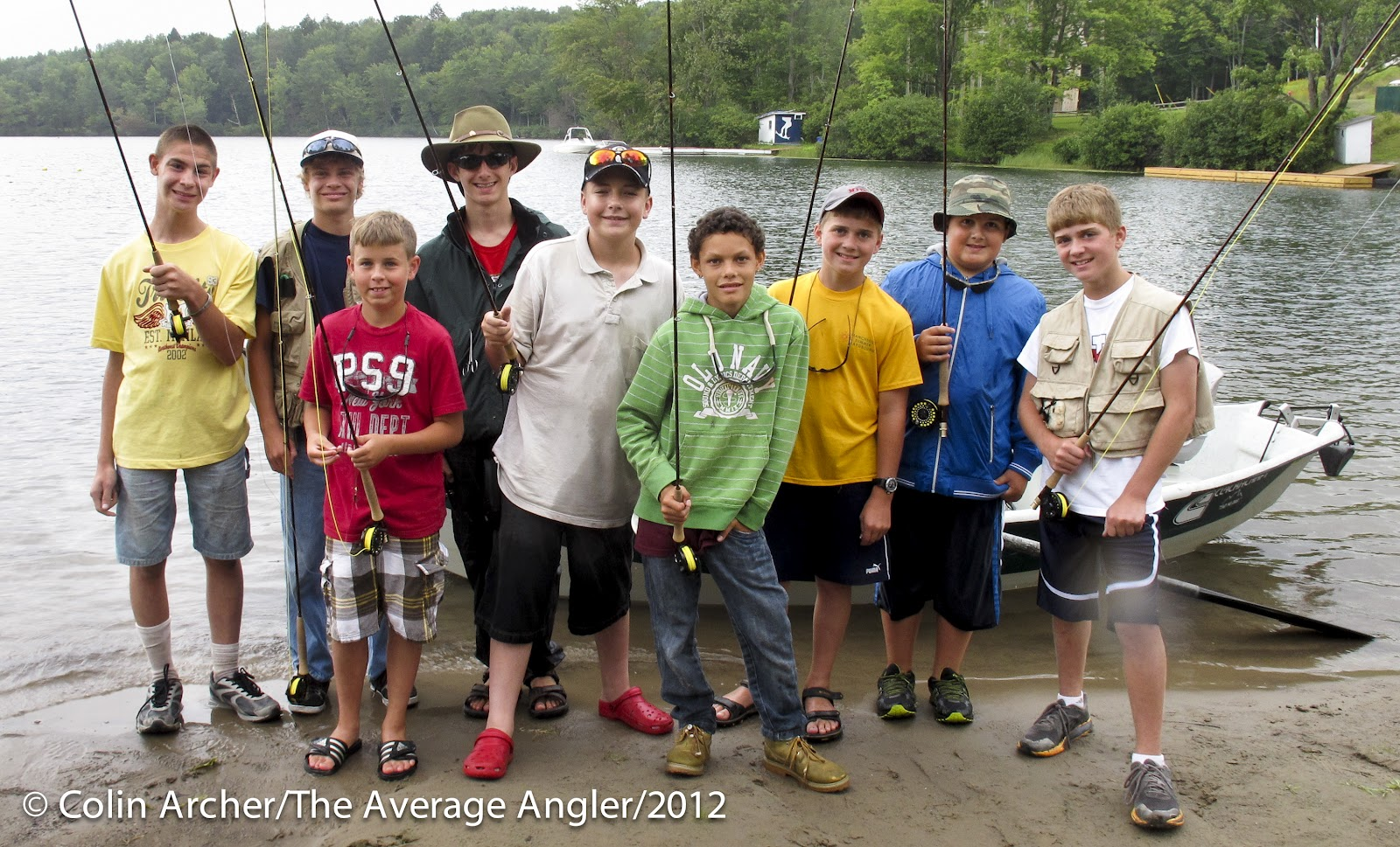 The average angler just a quick post about the for Fishing camps for kids