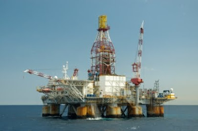 Foto de Plataforma de Petróleo Offshore