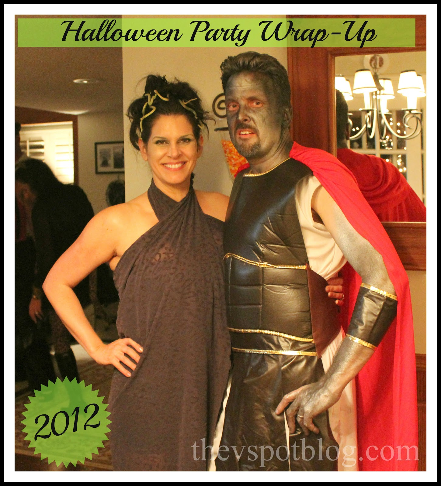 The Great Halloween Party Wrap Up! (2012 edition)  sc 1 st  The V Spot : perseus halloween costume  - Germanpascual.Com