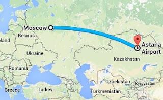 Moskova'dan Astana'ya Nasıl Gidilir