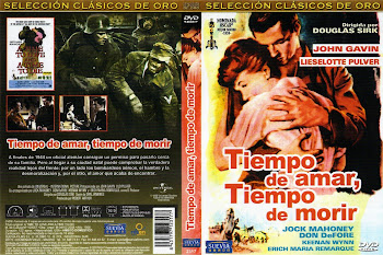 Carátula dvd: Tiempo de amar, tiempo de morir (1958) (A Time to Love and a Time to Die)