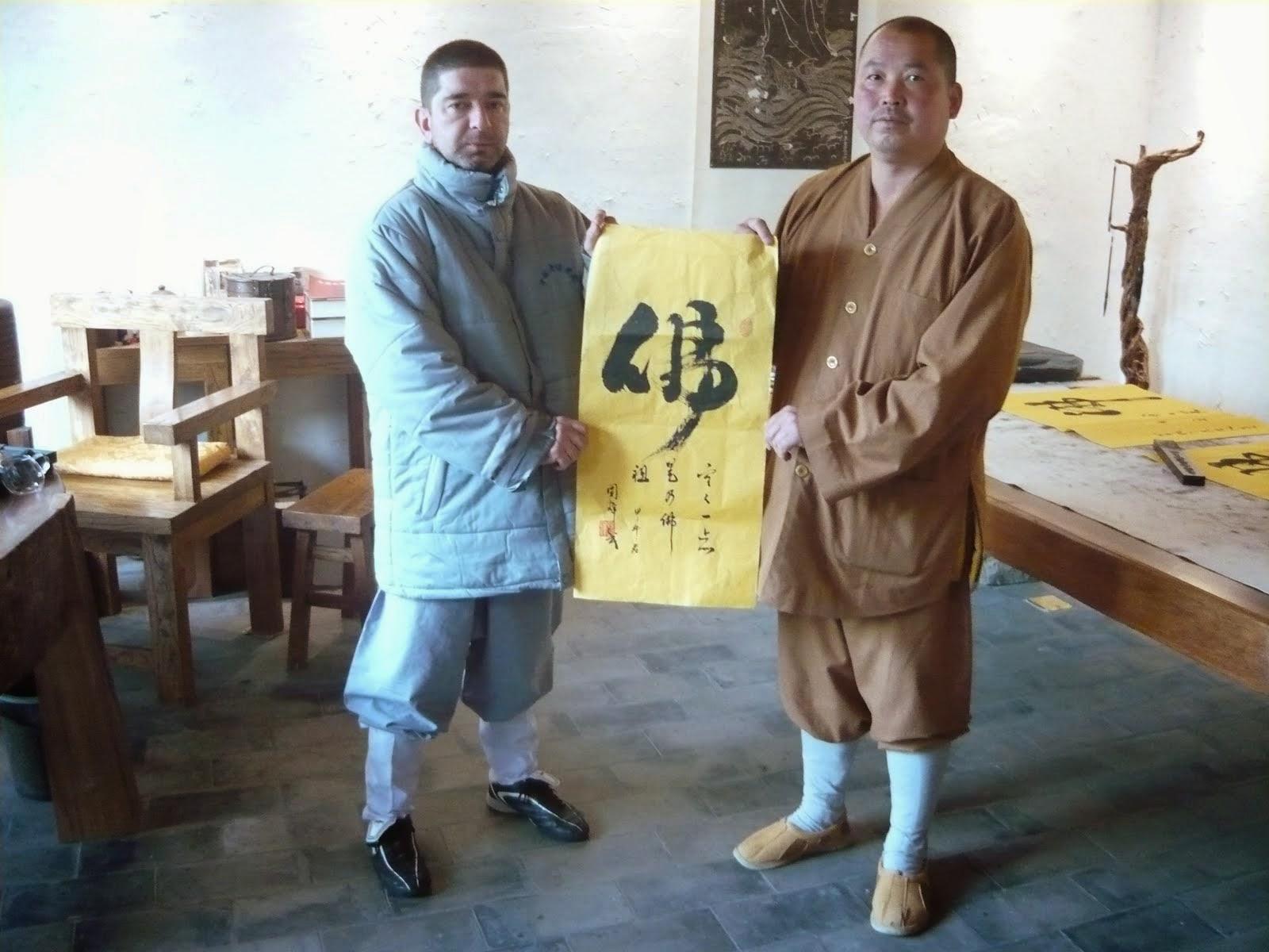 Shifu kan entregando pergamino de linaje