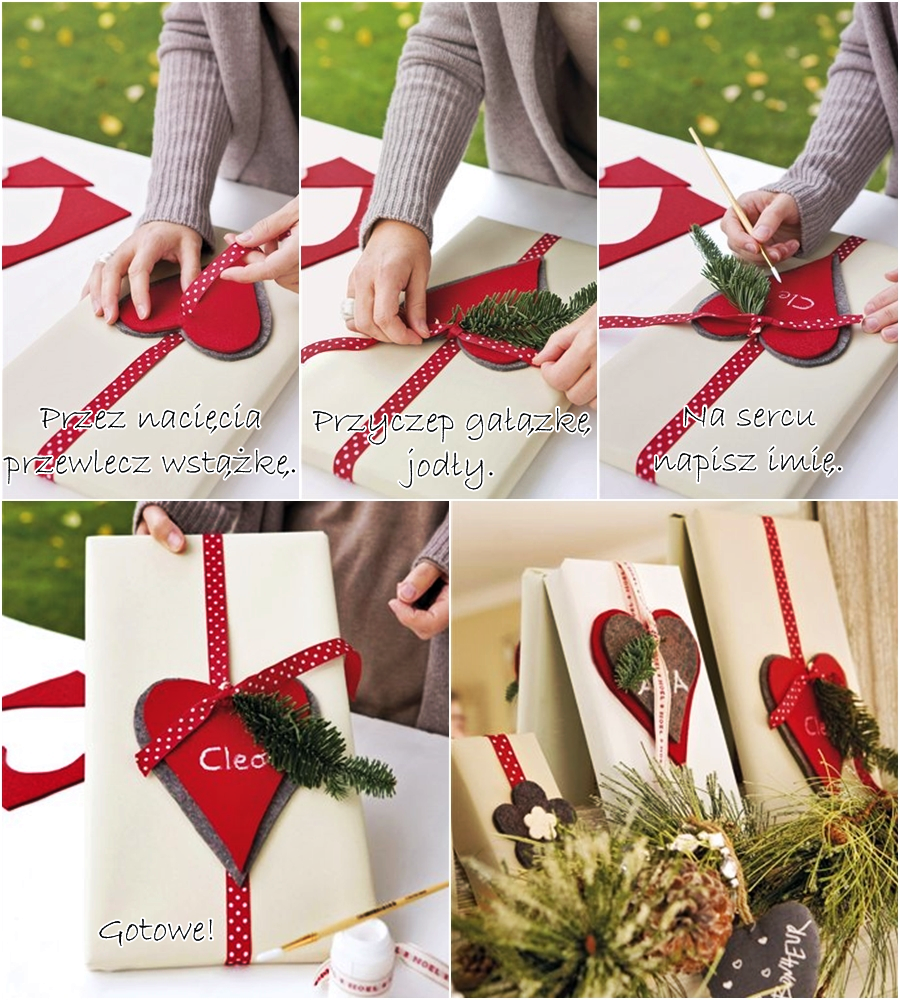 wnętrza, wystrój wnętrz, home decor, świąteczne dekoracje, christmas decor, pakowanie prezentu, DIY, zrób to sam, tutorial