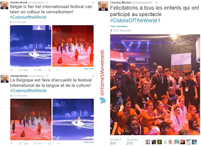 Belgian PM Charles Michel tweets on International Language and Culture Festival