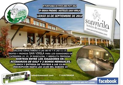 Torneo Hoteles San Virila en Lizaso Pitch & Putt