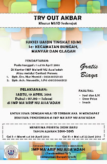 TRY OUT AKBAR SUKSES USBN