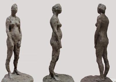manu lafay sculptures argile femme