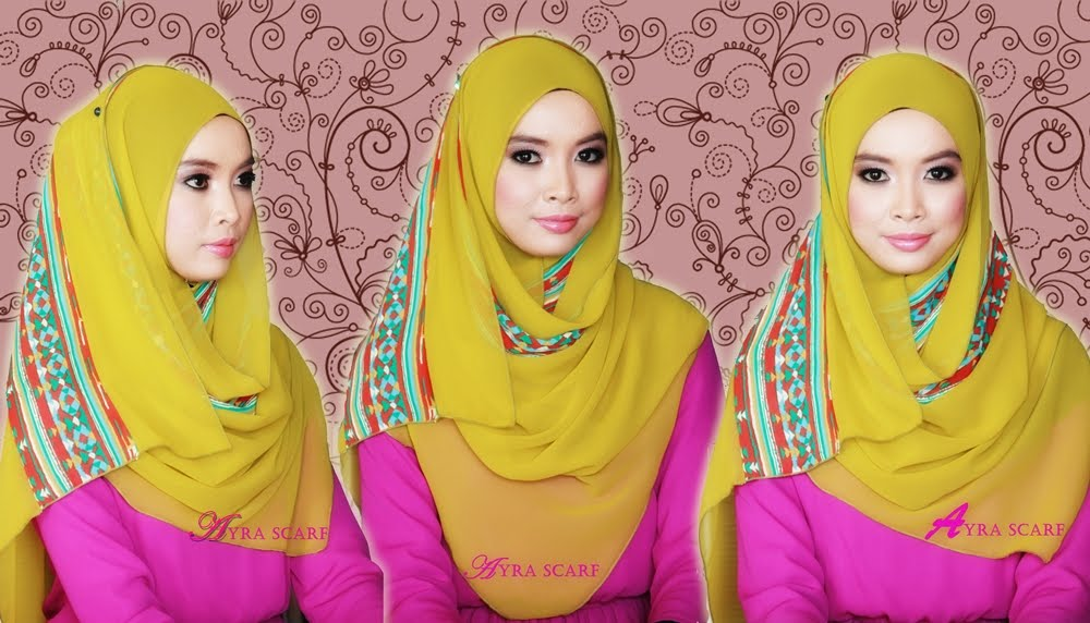 Ayra Scarf - Malaysia Online Hijabs Retail & Wholesale