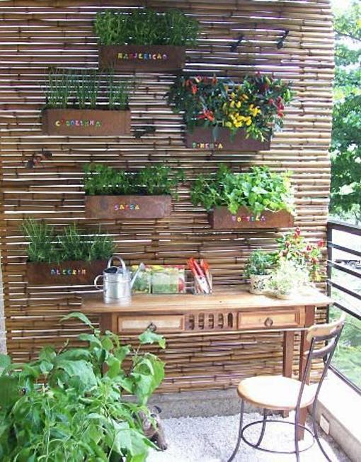 """pequena horta no jardim : pequena horta no jardim:Mini Horta """"Paraíso da Saúde"""": Paisagismo"""