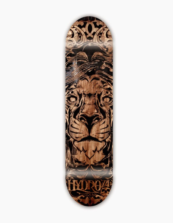 Joshua M. Smith - Laser Etched Skateboards