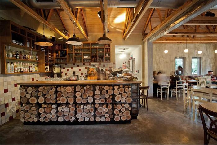 Rustik chateaux caf ruta de la vid - Mostradores de bar ...