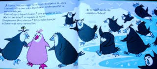 Llibre infantil Pink, el pingüí que es va tornar rosa