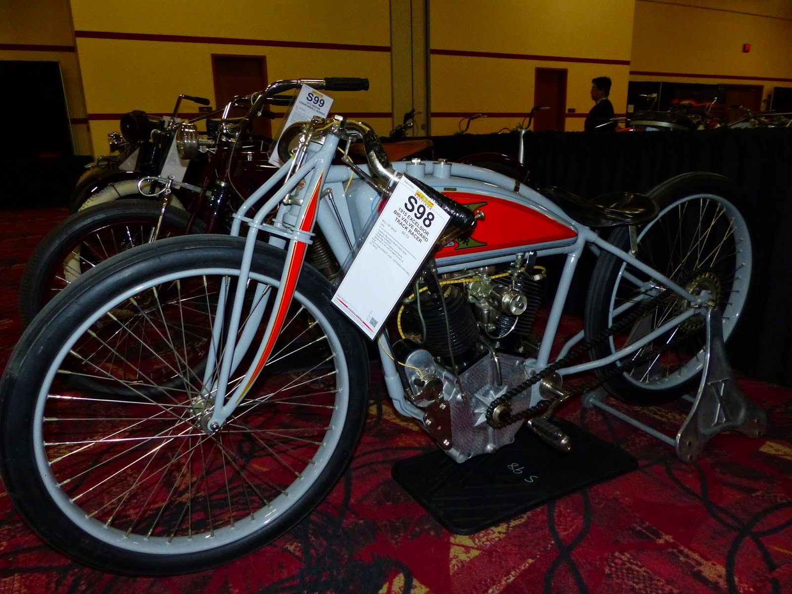 1915 Excelsior Board Track Racer For Sale At The 2015 Mecum Las Vegas Motorcycle Auction