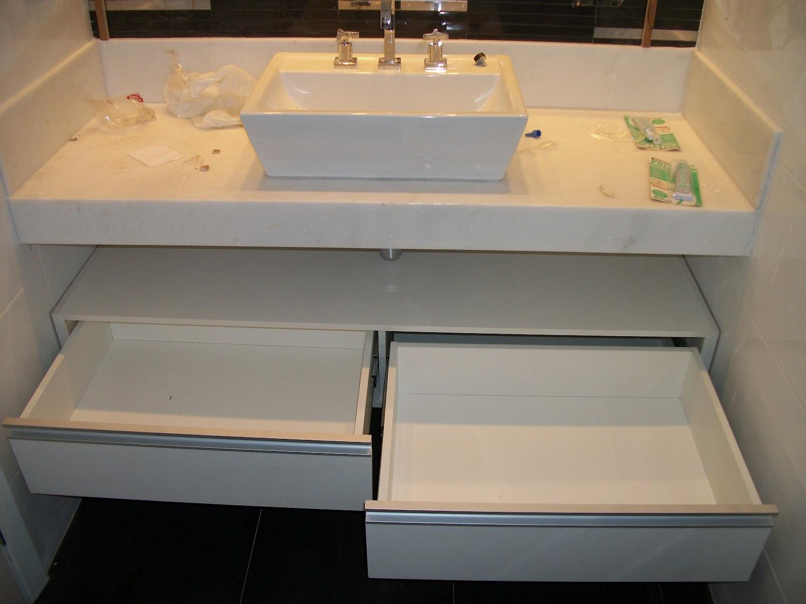 MÓBILE MARCENARIA: gabinetes de banheiro #926A39 1600 1200