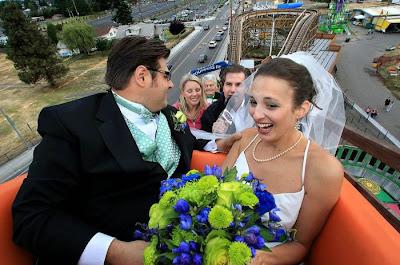 اقامة حفل زفاف فى الملاهي