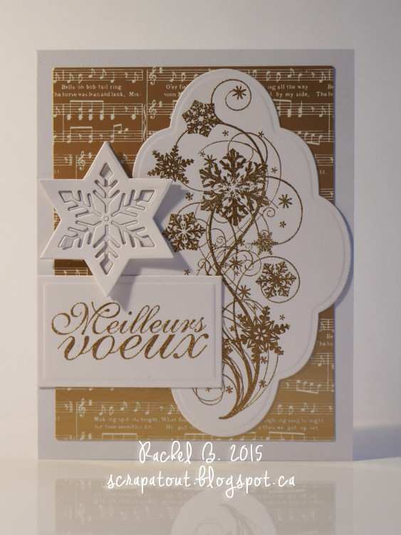 Handmade card, Winter, Wishes, IO stamps, Magenta
