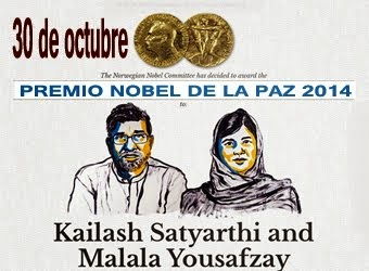 Premios Nobel de la Paz 2014