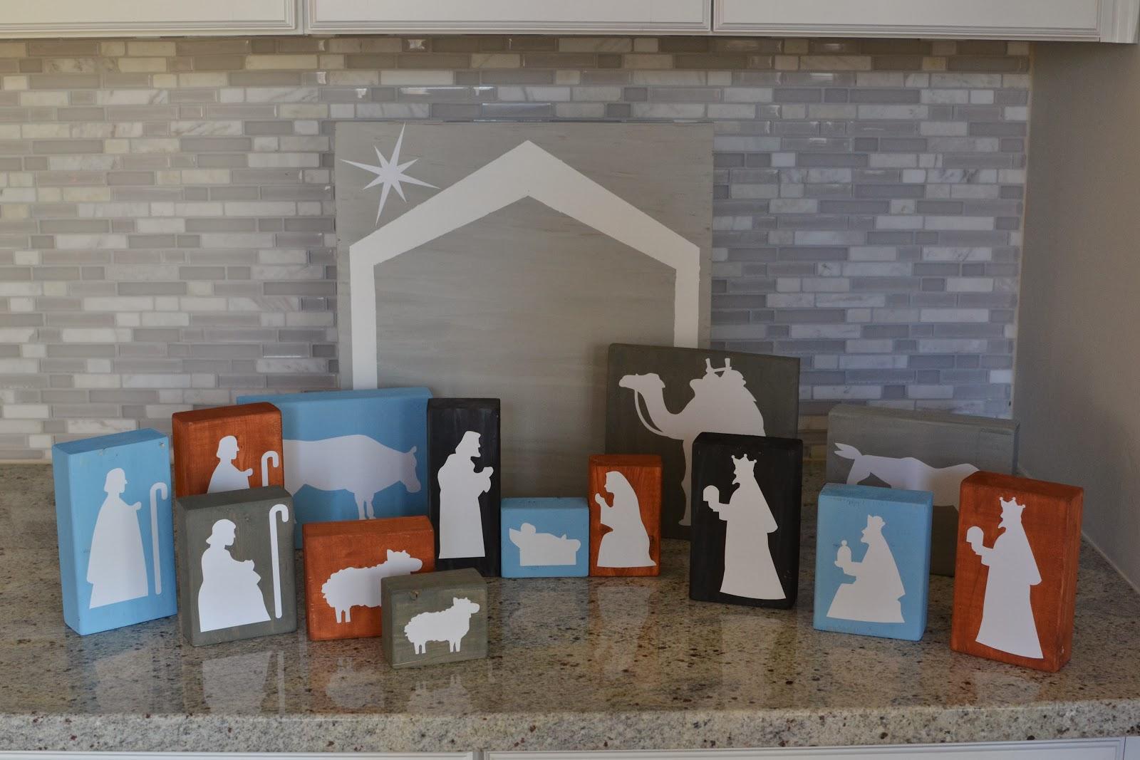 2014 laforce be with you diy wood block nativity set solutioingenieria Gallery