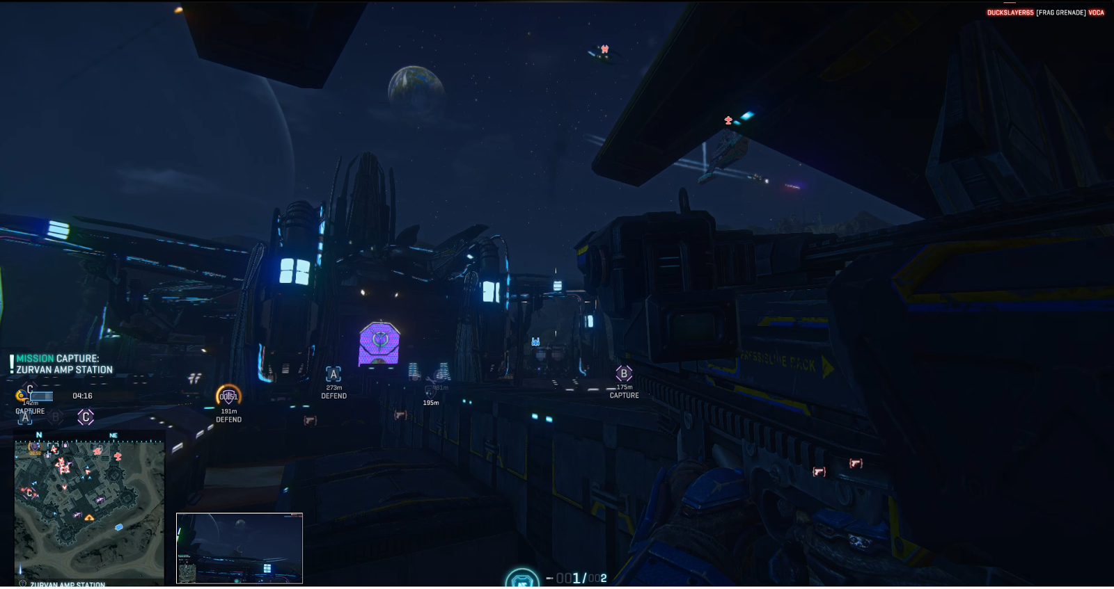 Vanu base, planetside 2, rocketlauncher, phoenix