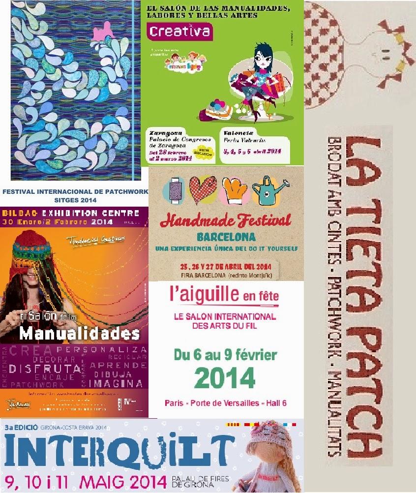 Histories de la tieta patch calendario ferias for Calendario ferias