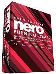 Nero burning Rom 12 free download+ serial key+patch