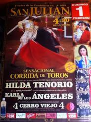 Hilda Vs. Karla, en San Julian, Jalisco, el 01/02.