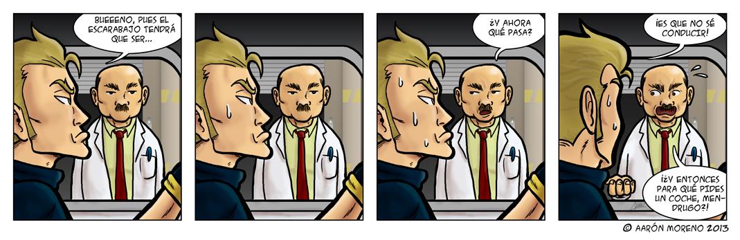 Diox-Men #004 Problemas técnicos