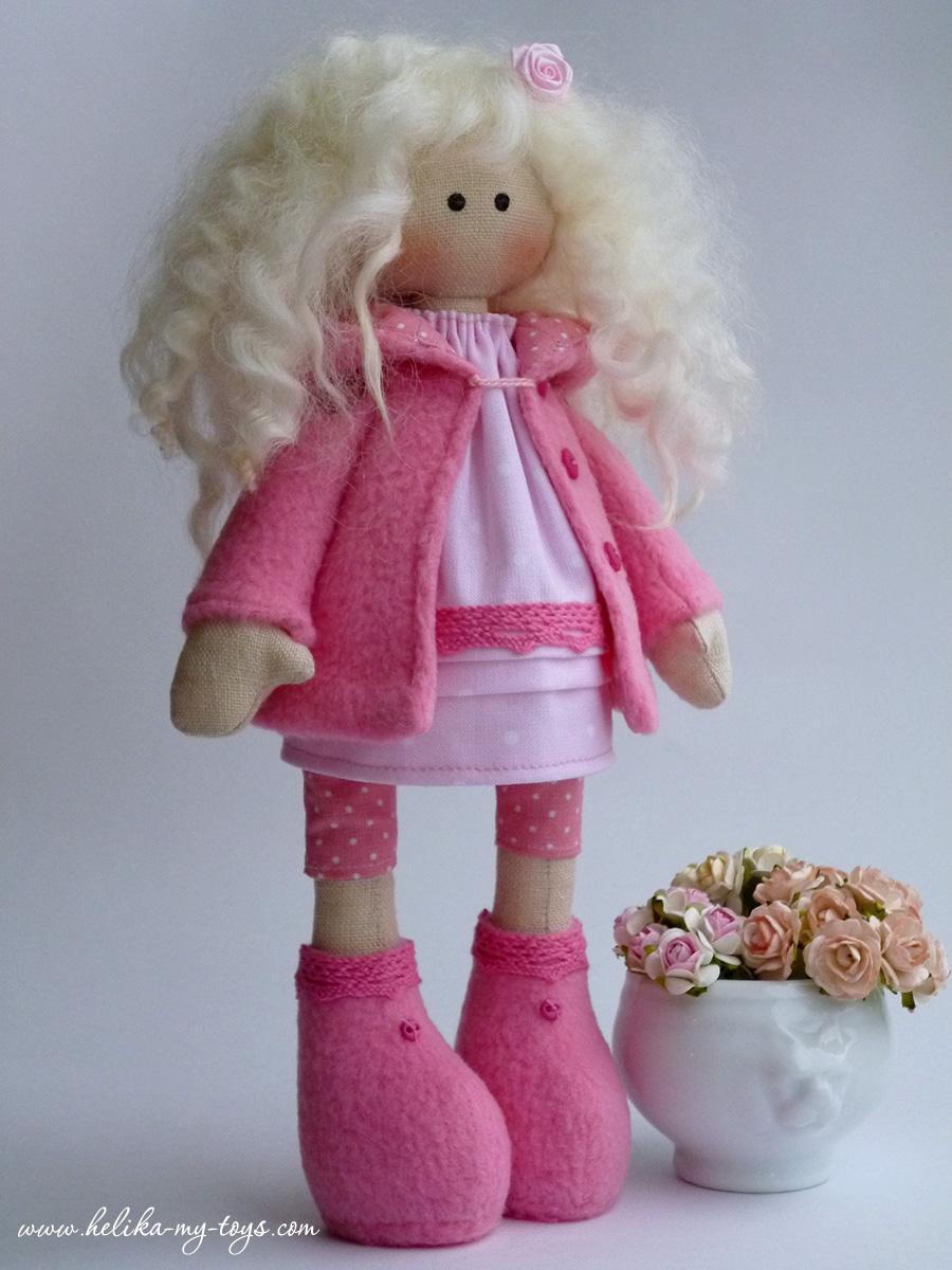 Кукла снежка своими руками для начинающих с