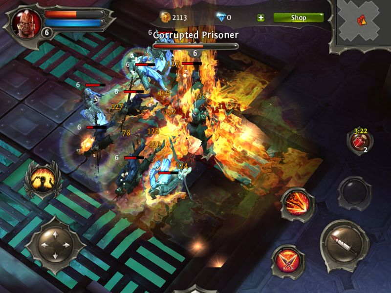 dungeon hunter 4 apk free  offline games