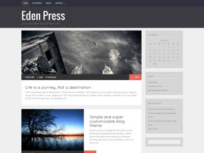 Eden Press WordPress Theme