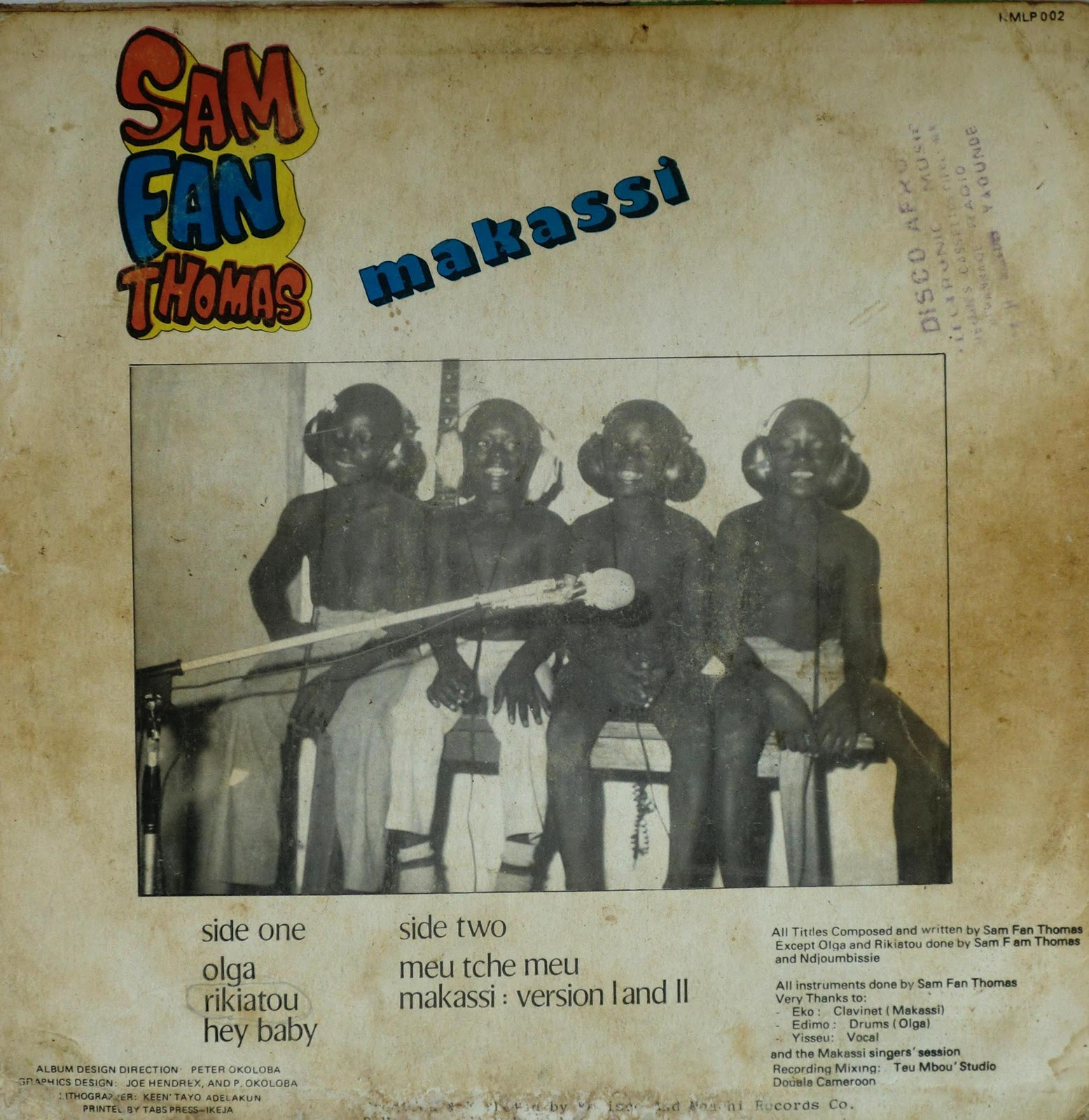 Sam Fan Thomas - Makassi