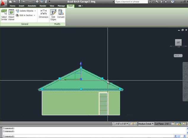 Drawing 3d Roofs With Autocad Architecture Graphic Cad