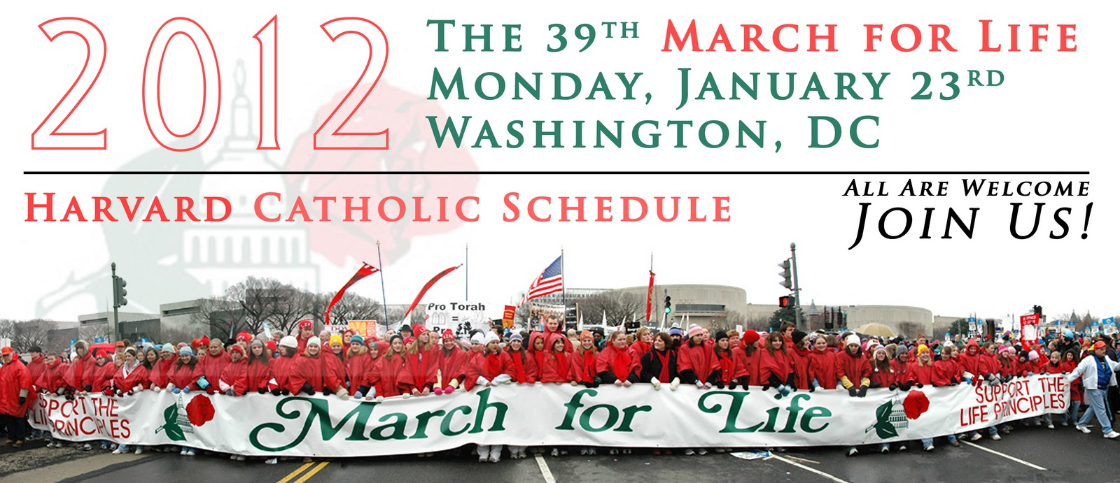 st  paul u0026 39 s church pro-life  u0026 family committee  1  22-1  24  2012  march for life