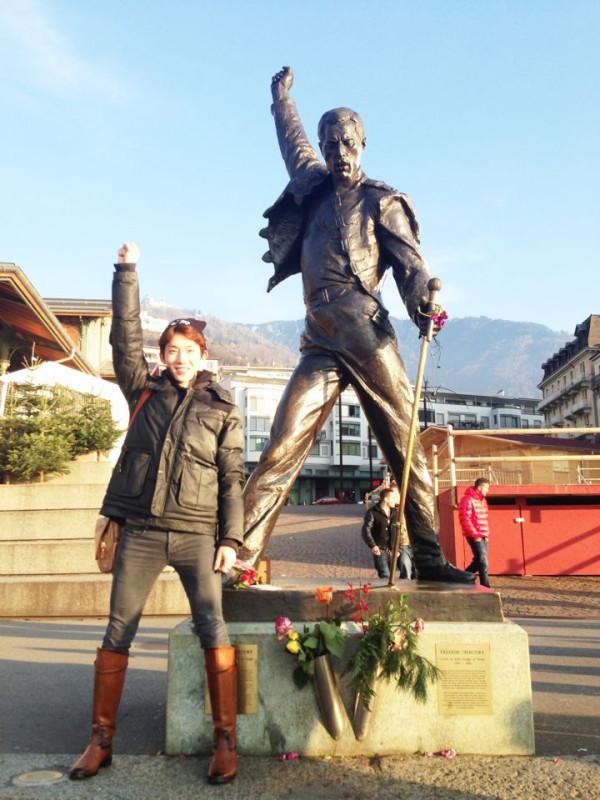 Jo Kwon Bertemu Freddie Mercury?
