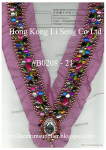 Beaded Applique Manufacturer, Wholesaler and Supplier - Hong Kong Li Seng Co Ltd