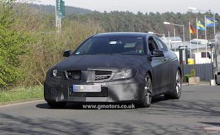 mercedes benz c63 AMG couple black series
