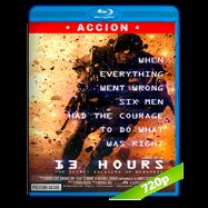13 Horas: Los soldados secretos de Bengasi (2016) BRRip 720p Audio Dual Latino-Ingles