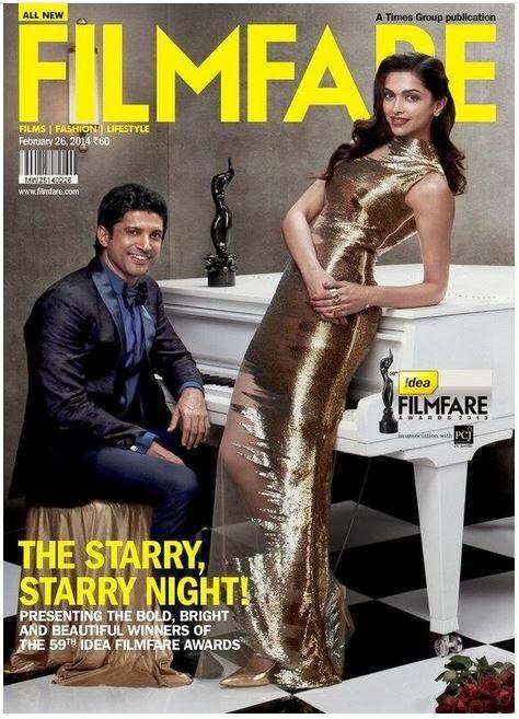 Deepika Padukone & Farhan Akhtar grace Filmfare