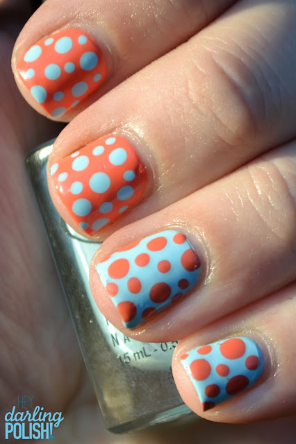 Nail Art, Dots, Polka Dot Nails, Sinful Colors Hazard, Color Club Take Me To Your Chateau, Nail Dots, Dotticure
