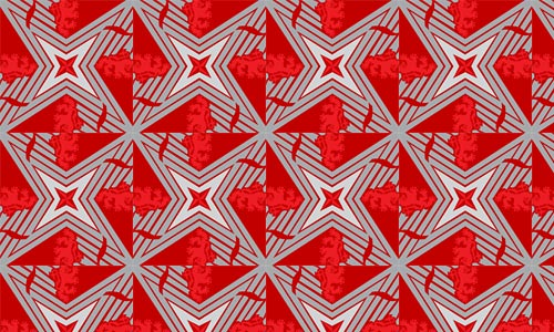 Cold War Lions Red Pattern