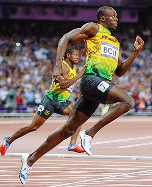 Fibras Intermedias y Lentas de Usain Bolt