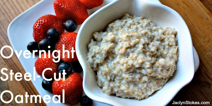 overnight steel-cut oatmeal recipe