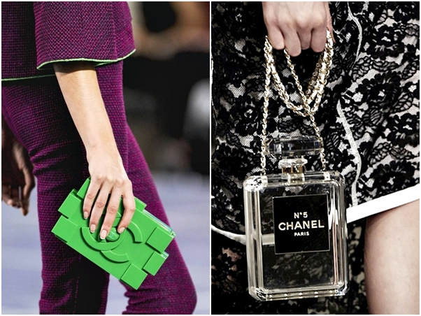 Bolsas Divertidas Chanel Lego Frasco Perfume
